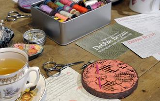 Nottingham Lace Embroidery Crafternoon
