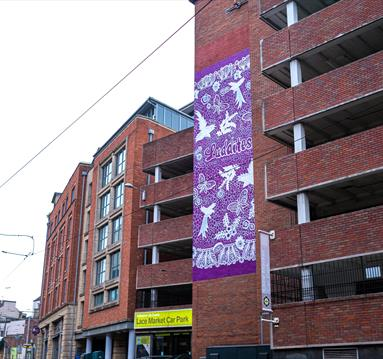Lace Market Street Mural