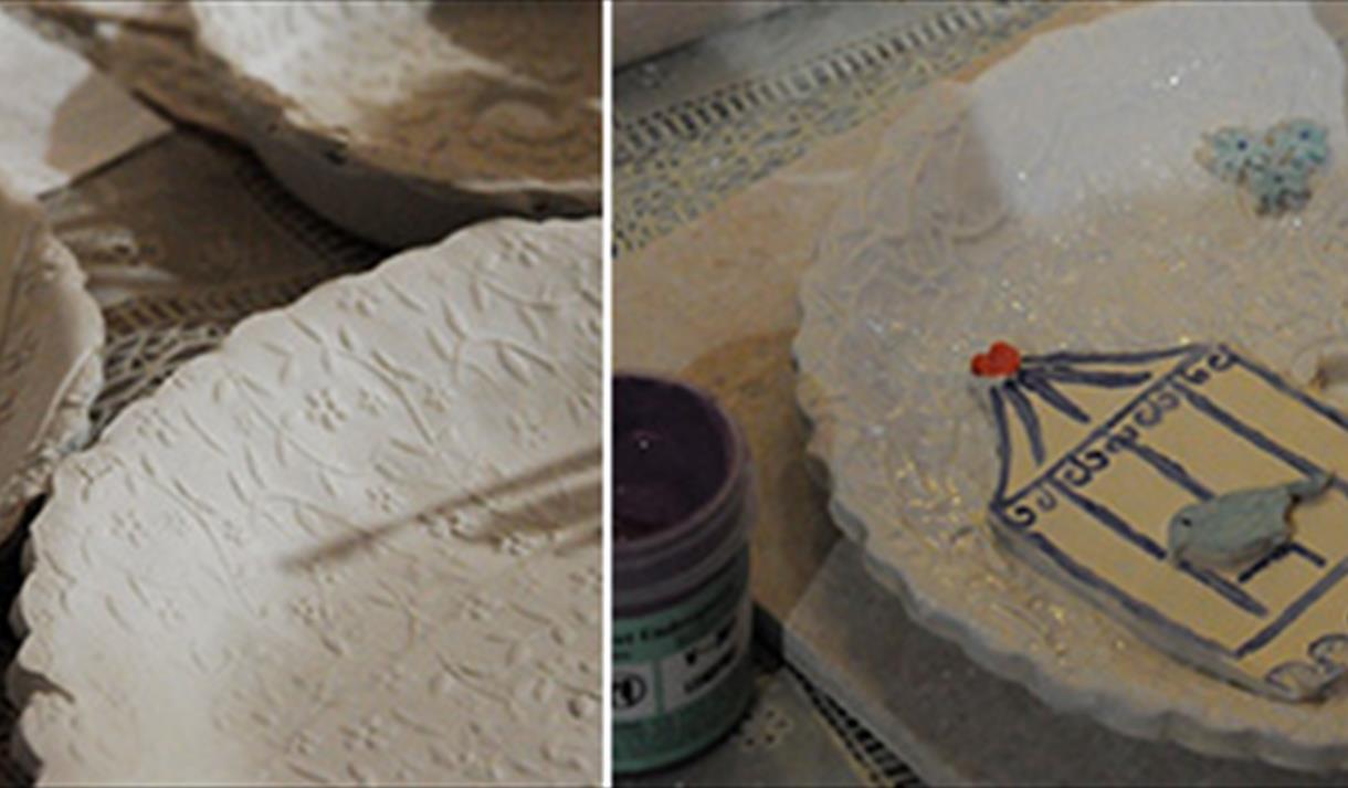 Crafternoon: Hand-built Ceramic Tea Light, £25