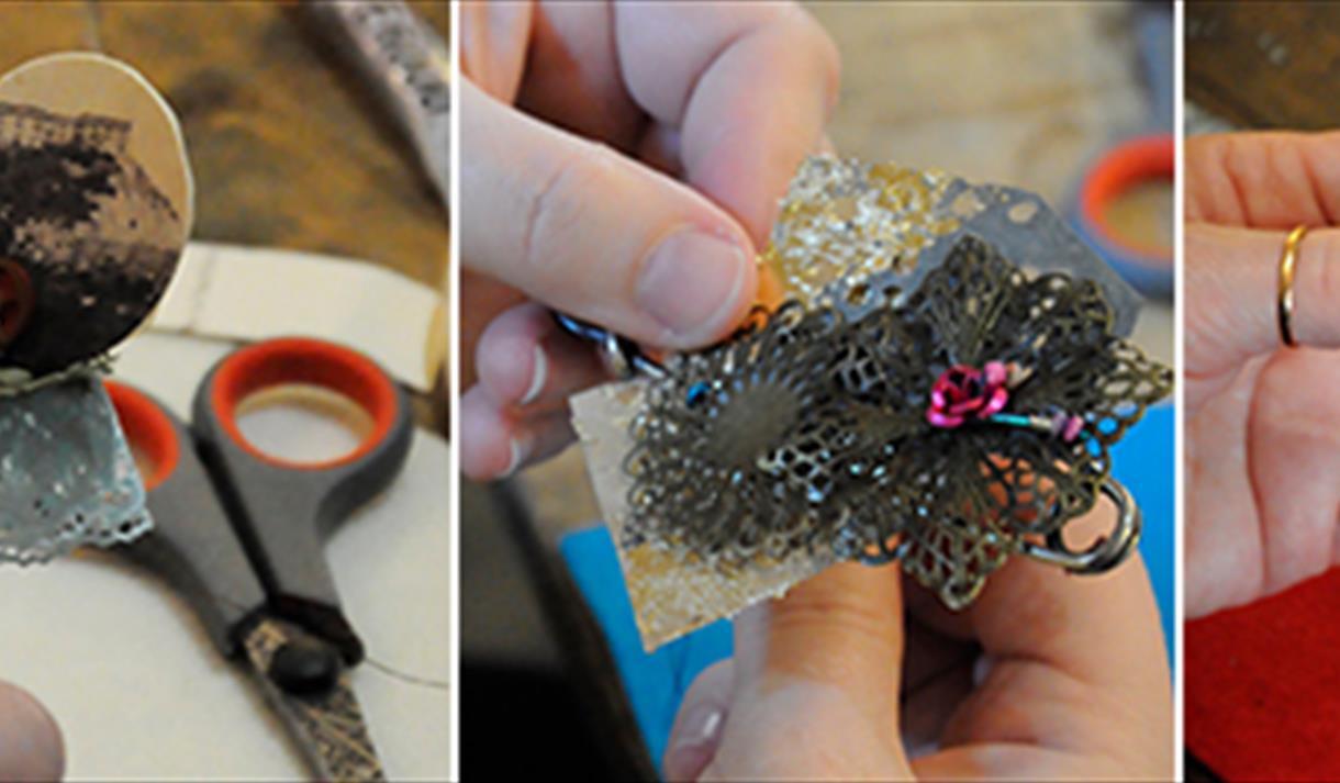 Crafternoon: Trinket Treasure Bracelet, £25
