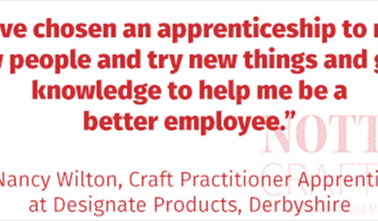 Nottingham Craft Academy: Apprenticeship Surgery