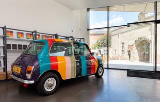 """""""Hello, My Name is Paul Smith"""" exhibition at Nottingham Castle"""