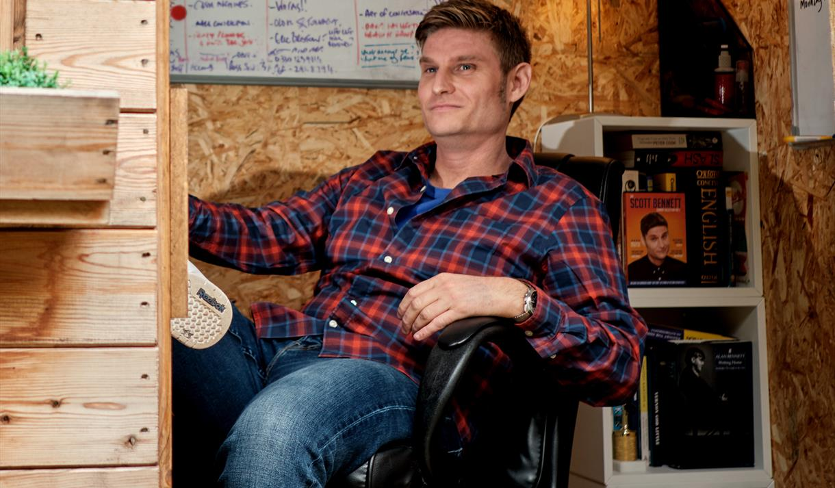 Nottingham Comedy Festival: Scott Bennett: The Voice In My Shed (WORK IN PROGRESS)
