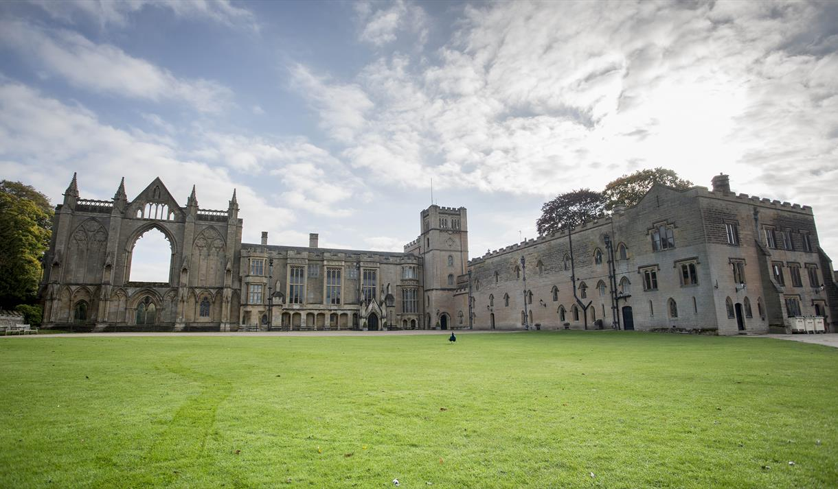 Outdoor Spooky Spells Trail at Newstead Abbey