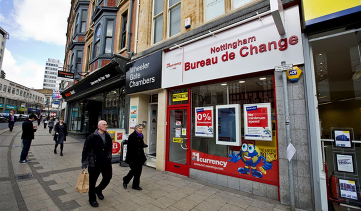 No 1 Currency Exchange Nottingham