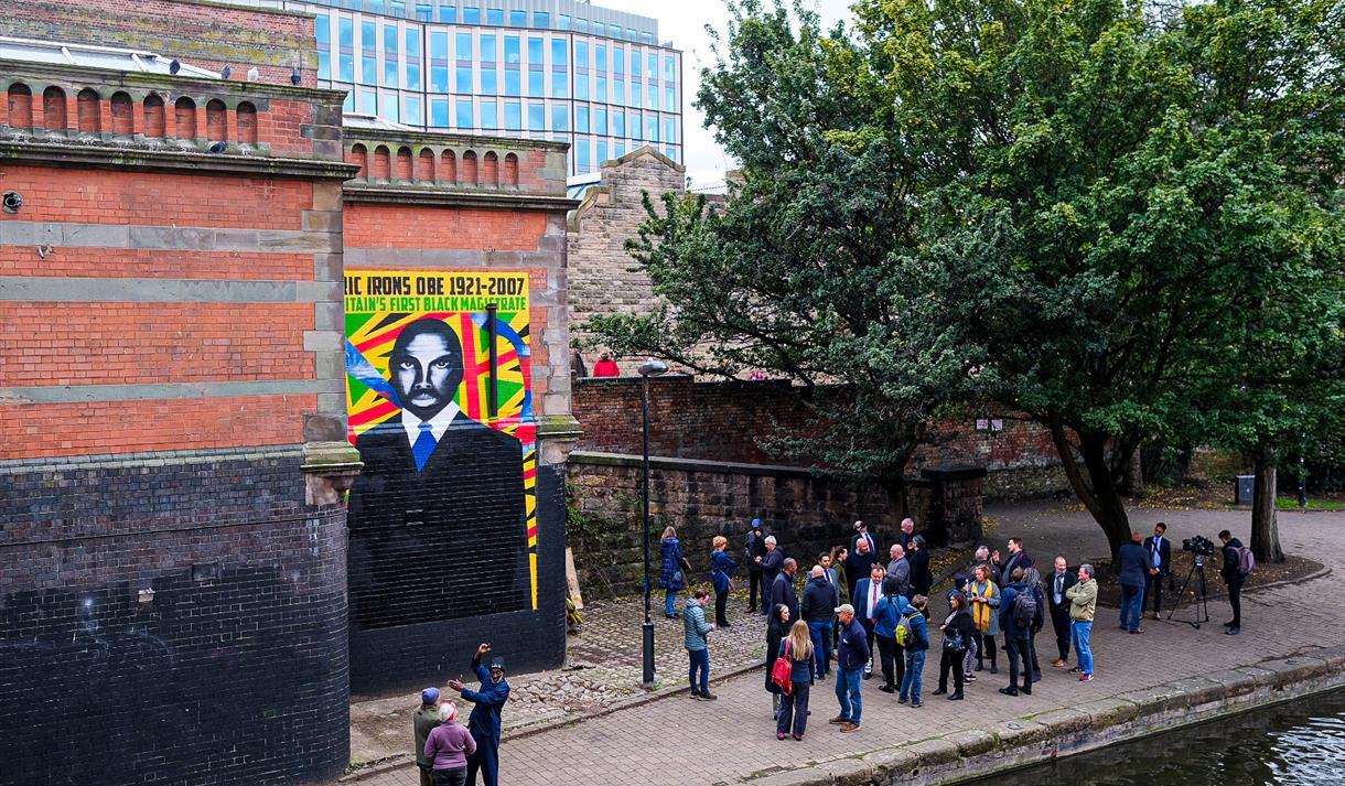 Street Art - Eric Irons OBE