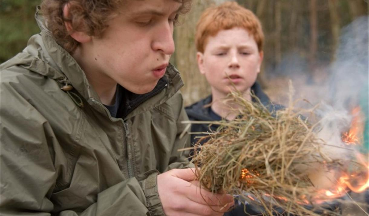 Overnight Bushcraft for families at Sherwood Pines