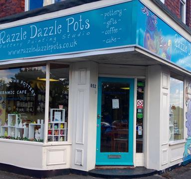 Razzle Dazzle Pots