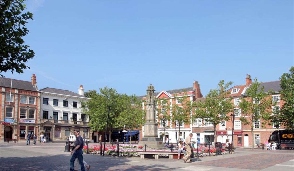 Retford town centre