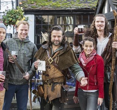 Robin Hood Town Tour Ezekial Bone   Visit Nottinghamshire