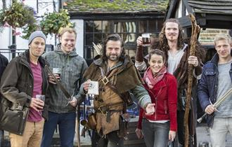Robin Hood Town Tour Ezekial Bone | Visit Nottinghamshire