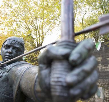 Robin Hood Statue | Visit Nottinghamshire