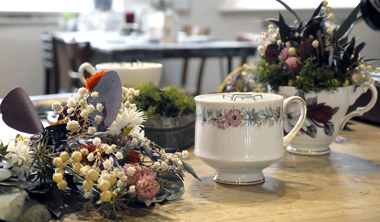 Teacup Floristry Crafternoon