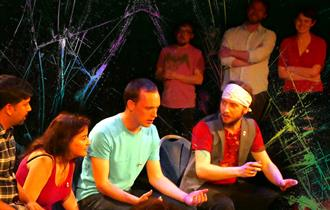 Live Comedy sketches at The Playwright.