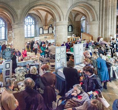 Winter Craft Fair at Southwell Minster