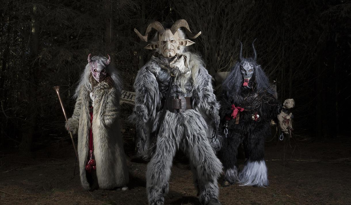 Krampus at Creswell Crags Visit Nottinghamshire