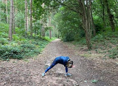 Outdoor Yoga and Mindfulness Walk