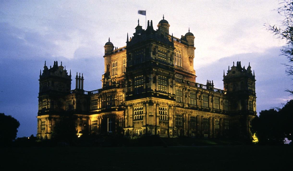 Wollaton Hall at Night - Visit Nottinghamshire