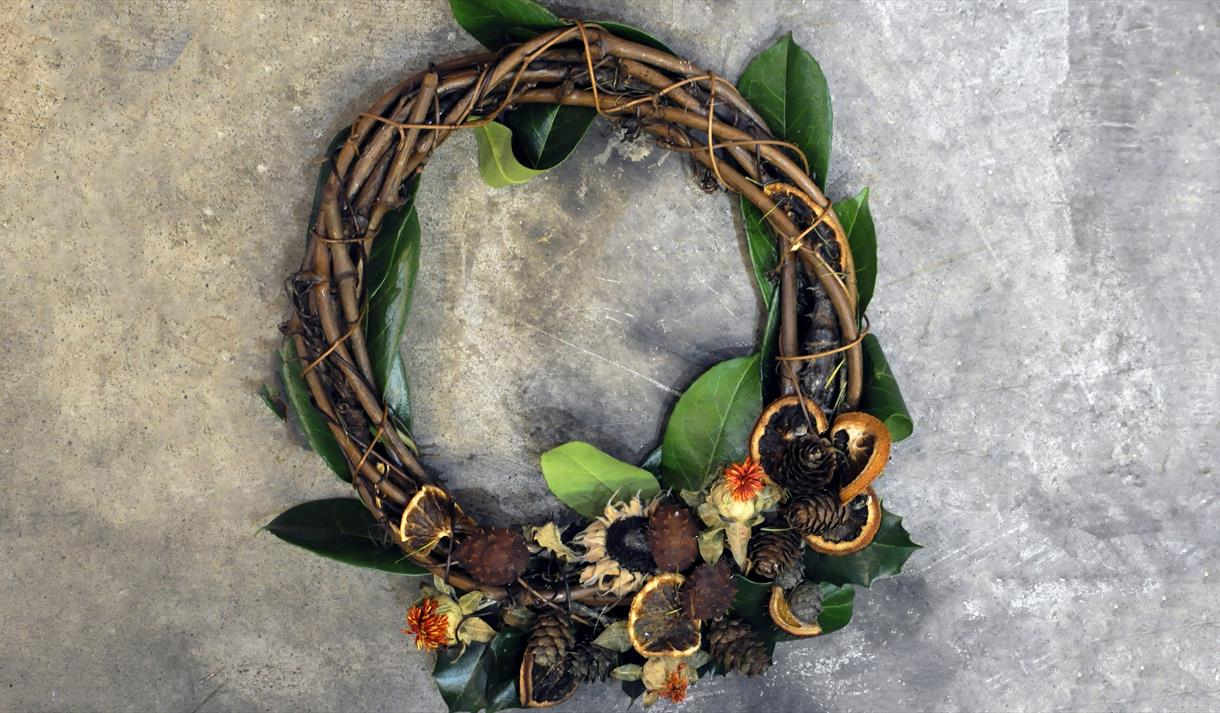 learn from Debbie Bryan during this wreath making creative class