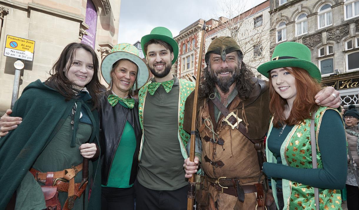 St Patrick's Day 2020 in Nottingham