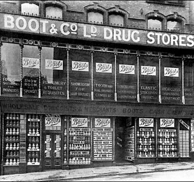 Image: Boots Archive