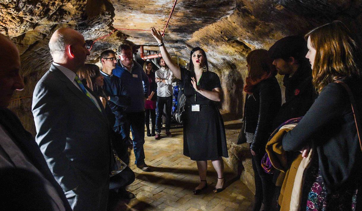 Malt Cross Heritage Tour: Music Hall & Caves