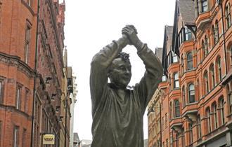Brian Clough statue