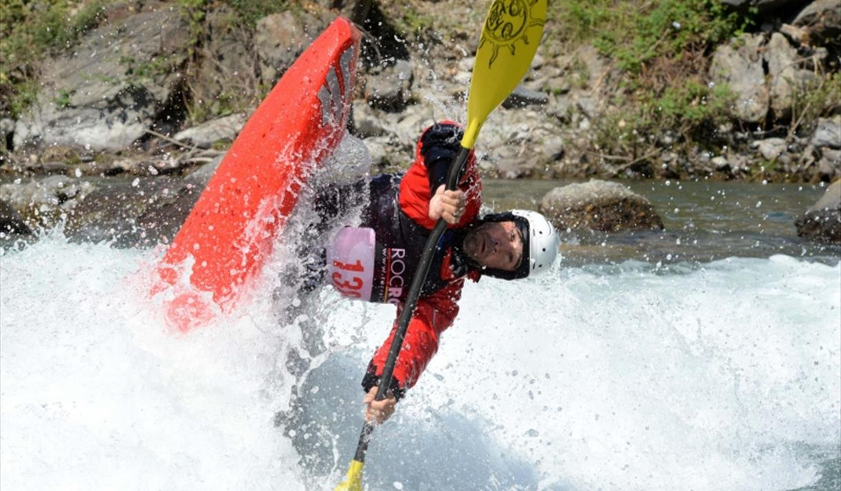 Competitor Image from 2018 ICF Canoe Freestyle World Cup courtesy of ICF