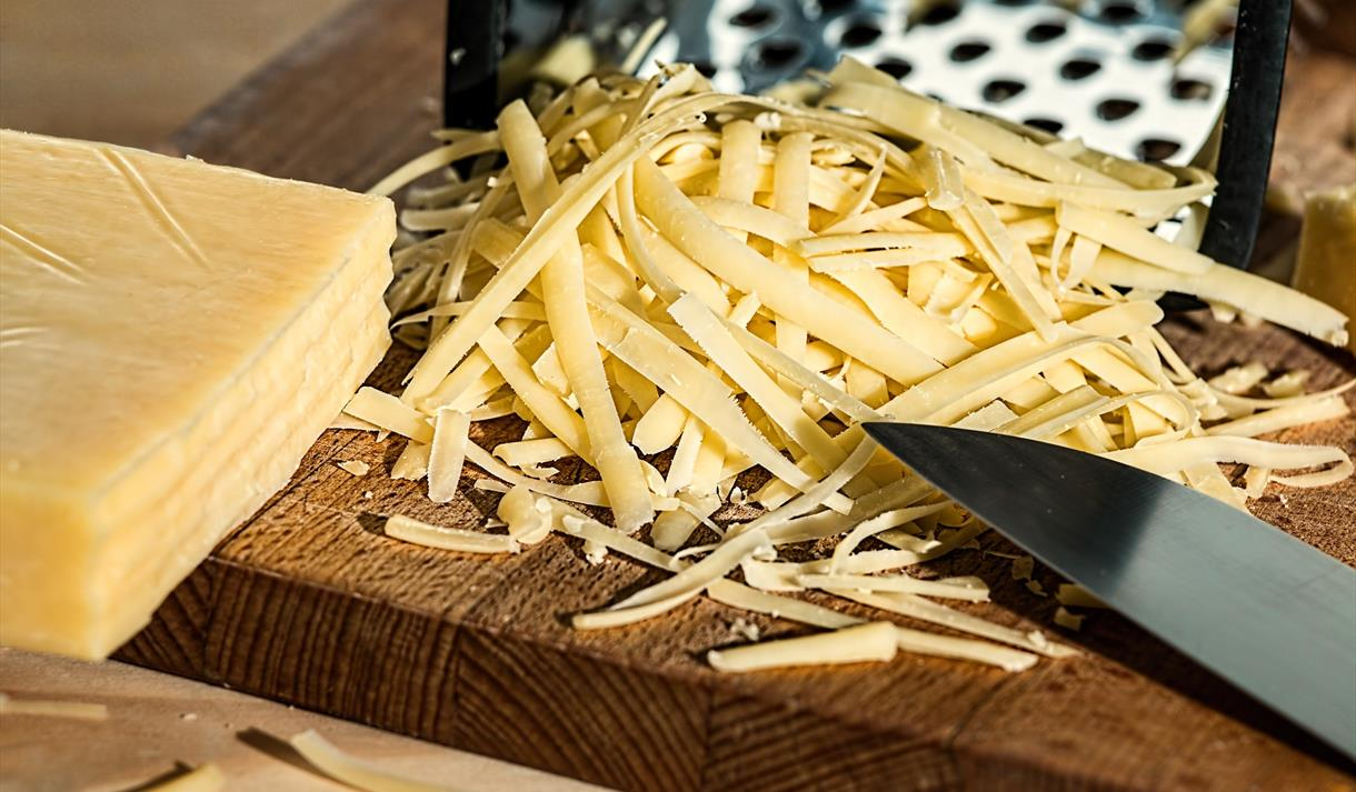 Cheese straw baking at Green's Windmill, Nottingham