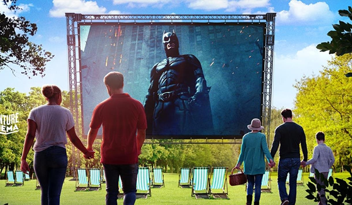 The Dark Knight - Outdoor Cinema 2021 at Wollaton Hall