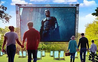 The Dark Knight - Outdoor Cinema 2021 at Wollaton Hall