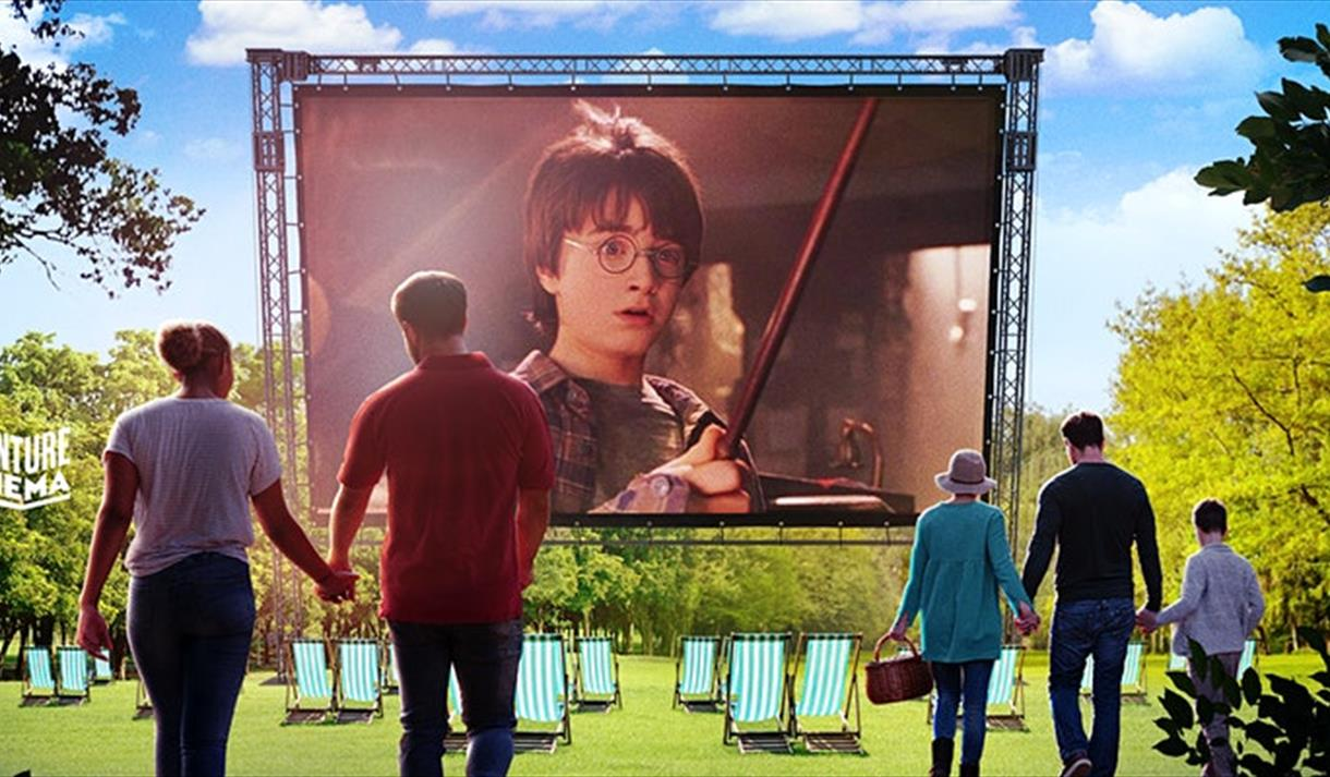 Harry Potter and the Philosoper's Stone - Outdoor Cinema 2021 at Wollaton Hall
