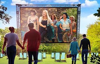 Mamma Mia - Outdoor Cinema 2021 at Wollaton Hall