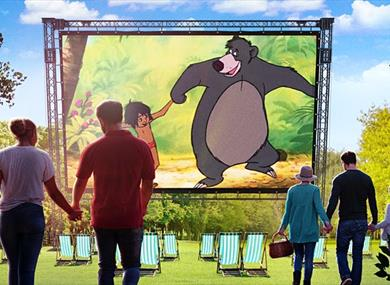 The Jungle Book - Outdoor Cinema 2021 at Wollaton Hall