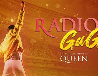 image of Queen and Radio Gaga