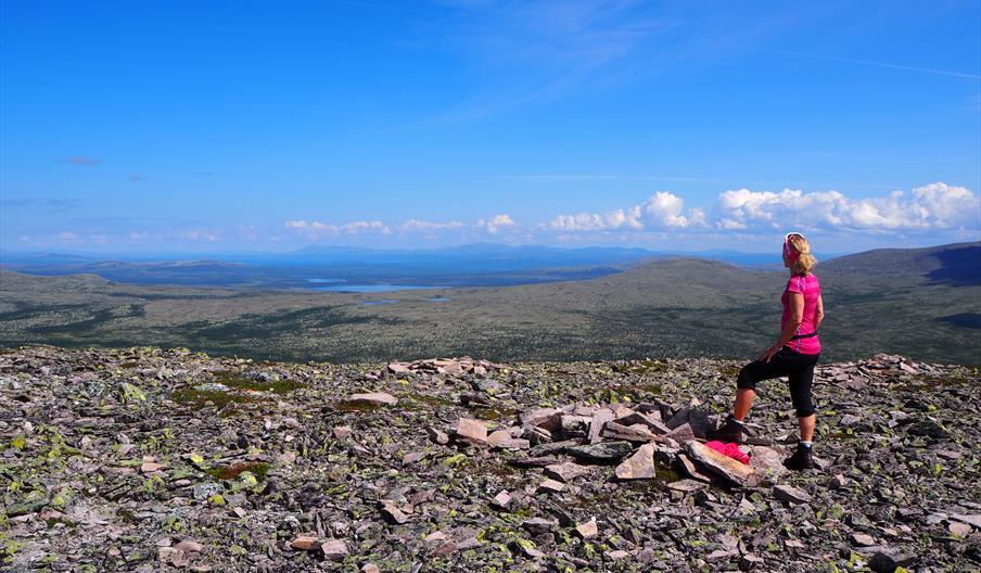 Flott utsikt fra Tannvola, foto Ine Gulbæk