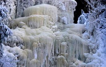 Renåfallet i frost