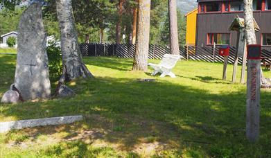 Pilegrimsteinen ved Åkre i Rendalen