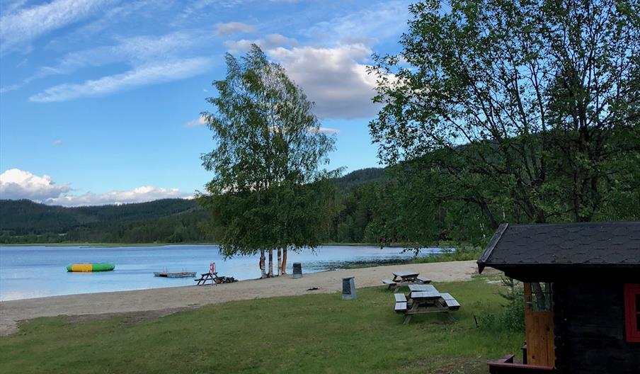 Kjemsjøen badeplass