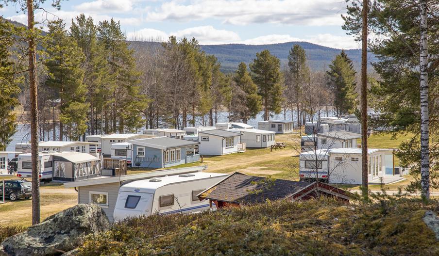 Utsikt Atna Camping