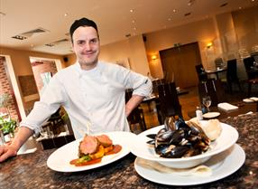 Chef at Cleaver, Cabarfeidh Hotel, Stornoway