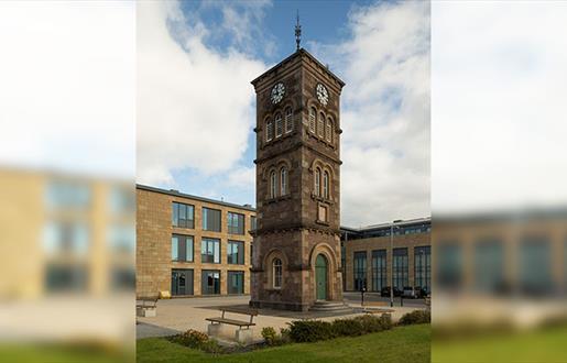 5. Nicolson Institute Clock Tower