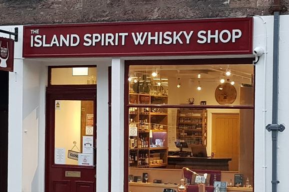 The Island Spirit Whisky Shop