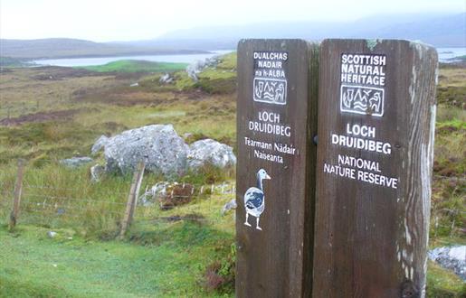 Loch Druidibeag Nature Reserve by Colin Smith