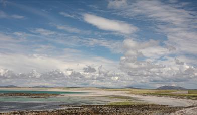 Airport beach in Balivanich, Benbecula