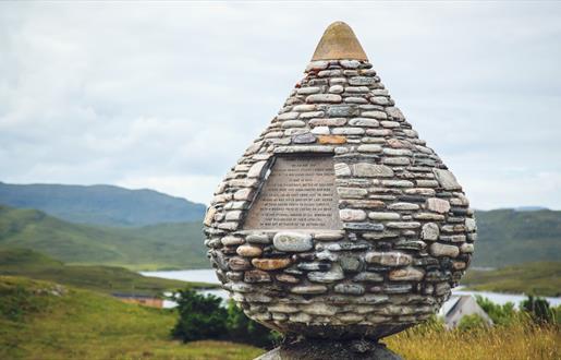 Bonnie Prince Charlie Monument - Arivruach - Rachel Keenan