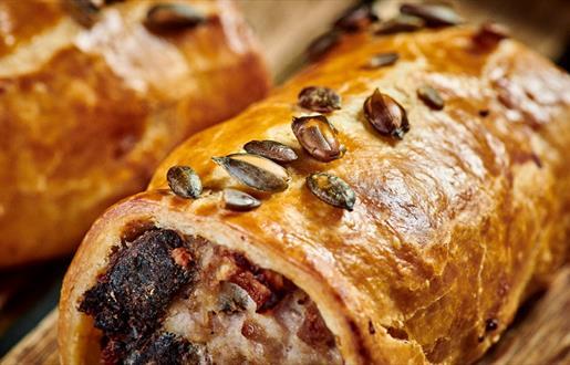 Pork Sausage and Black Pudding Roll © Euan Anderson