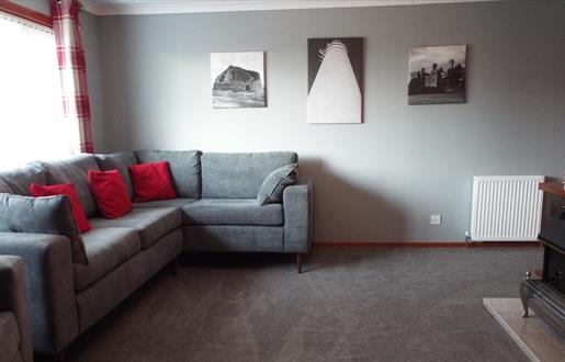Borve Bungalow - Lounge