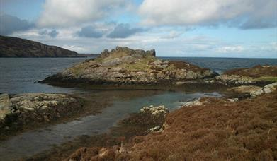 Location I - Calvay Island: Bonnie Prince Charlie Trail
