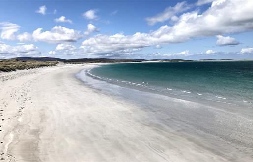 Clachan Sands Beach and Machair